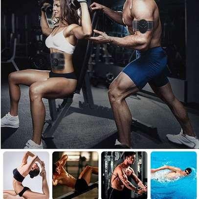 Abdominal Muscle Training Wireless EMS Belt Gym Body Massage image 8
