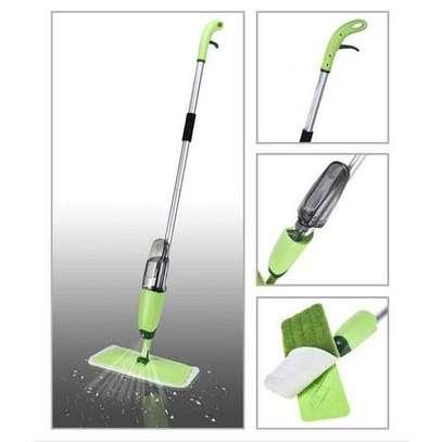 Spray Mop With Reusable Microfiber Pads image 1