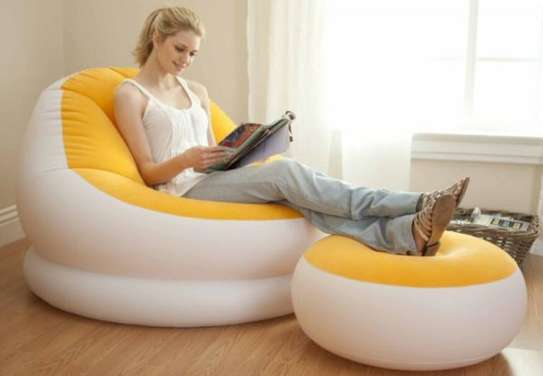Inflatable seat image 3