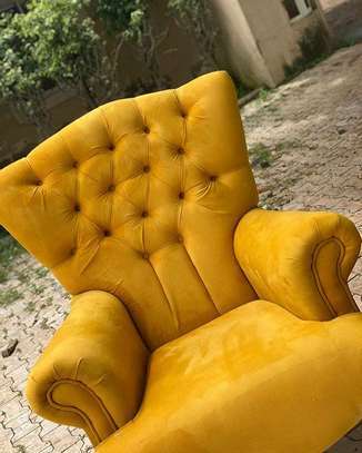 Upholstered Chair image 1