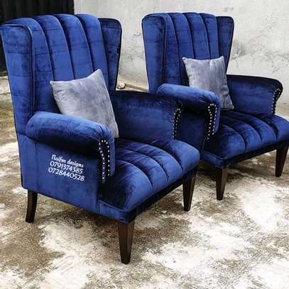 Modern sofas/arm chair/wingback chair/one seater sofa/single seats for sale in Nairobi kenya image 1