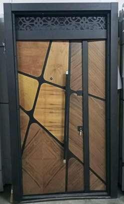 Double Security steel door image 1