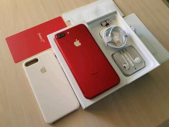 Apple Iphone 7 Plus 256Gb Product Red And Iwatch Nike Edition image 4