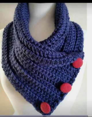 Stylish knitted women scarfs and Marvin image 7