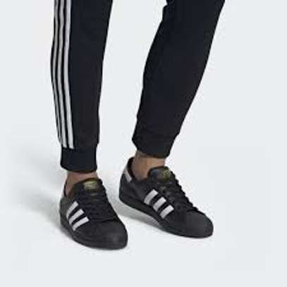 Adidas Superstar II  Black White Trainers Casual Shoes G17067