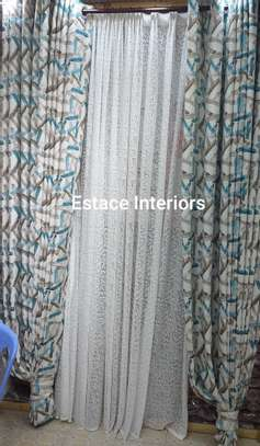 Matched curtains and sheers image 4
