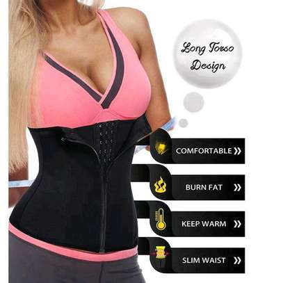 Fashion Private Label Fat Burning Body Shaper Women Sexy Lingerie Corset Wear Device Slimming Waist Trainer Belt Distributor image 2