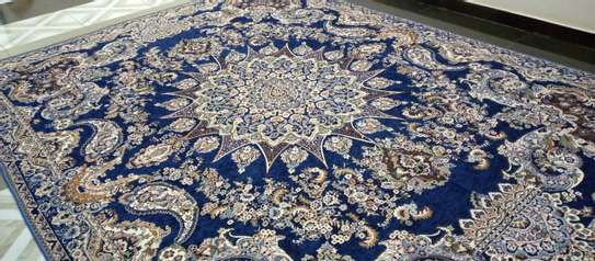 Persian Light Carpet / Bed Cover. image 6