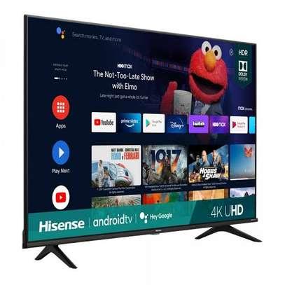 HISENSE 55 SMART tv ANDROID framed image 1