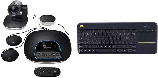 Brand: Logitech Model: Group Video & Work From Home Video Conferencing image 5