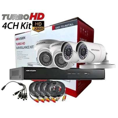 4 CCTV CAMERA PACKAGE - HIKVISION image 2