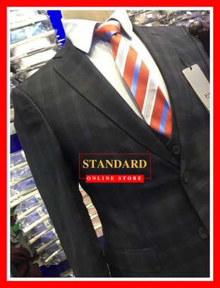 Checked 3 piece Designer Suits image 1