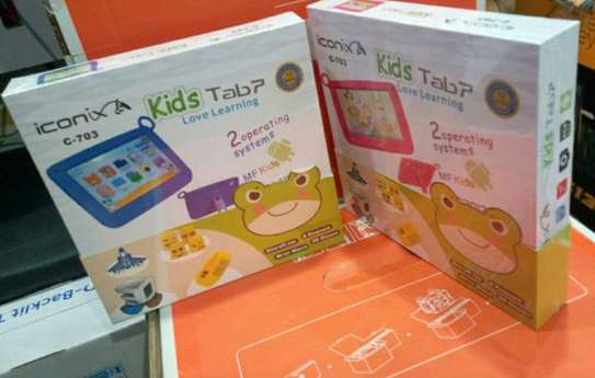 New kids Tablet 8 GB with wifi and free watch image 1