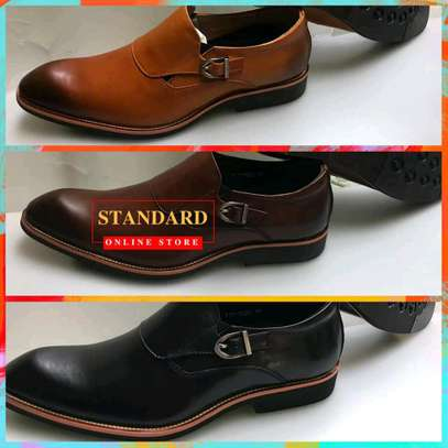Men's Official Italian Leather Shoes with rubber sole image 24