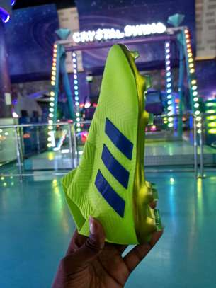 The Adidas Nemeziz 18+ Laceless Soccer Cleats image 1