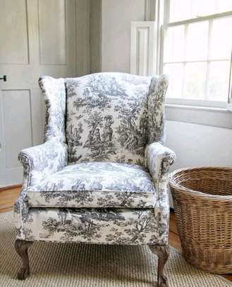 Beautiful Contemporary Quality Wingback Chair