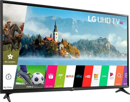 LG 55 inches Smart  UHD-4K Digital TVs image 1
