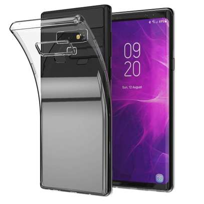 Clear TPU Soft Transparent case for Samsung Note 9 image 7
