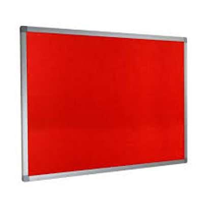 Wide notice boards