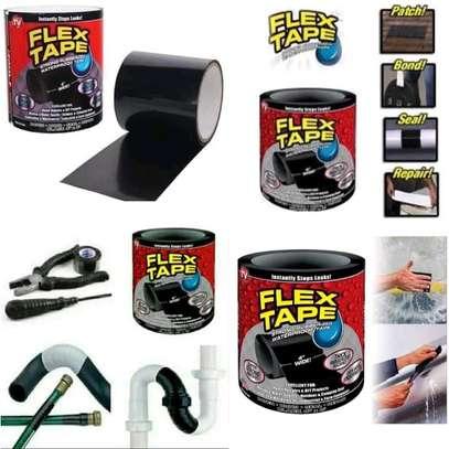 Flex Tape Waterproof Adhesive Repair Rubberized Tape image 3
