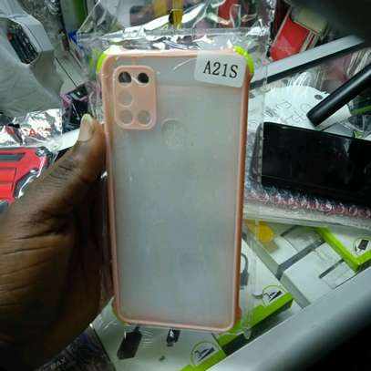 Samsung A21S Back Covers(My Choice) original hard covers image 1