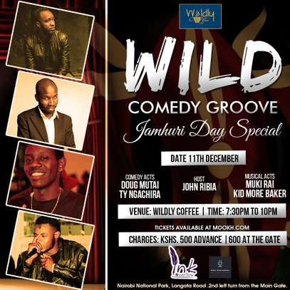 Wild Comedy Groove - Jamhuri Day Special