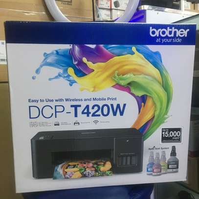 Brother DCP T420W wireless all in one printer image 3