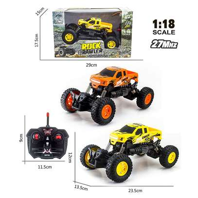Children's remote control toy rock climber car image 10