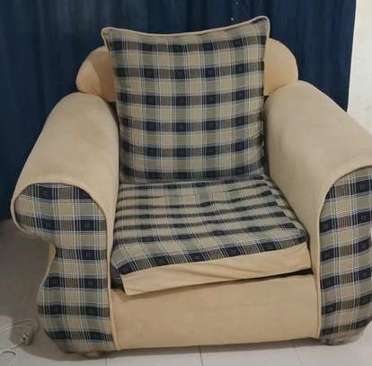 2 one seater sofa