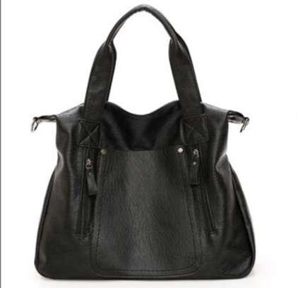 LADIES LAPTOP BAGS_ BLACK