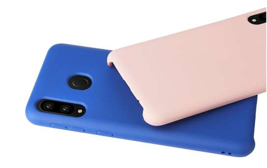 Silicone case with Soft Touch for Samsung M30 M20 M10 image 5
