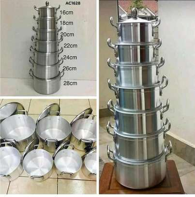 14pcs Aluminium cookware image 1