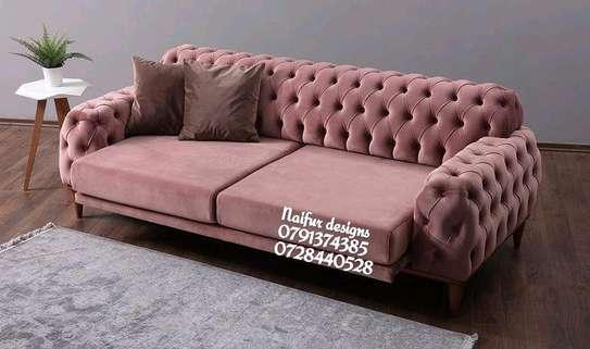 Executive sofas/trendy Chesterfield sofa designs for sale in Nairobi Kenya/Modern chesterfield sofas/three seater sofas image 1