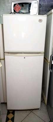 Lg double door fridge image 1