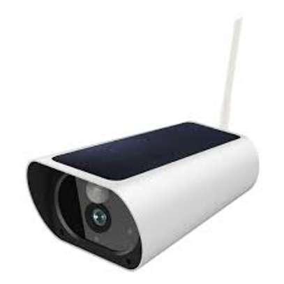 Solar bullet camera wifi version image 1