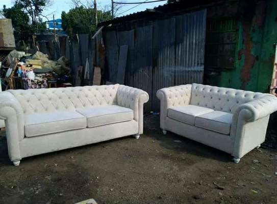 5-seater chesterfield sofa image 1