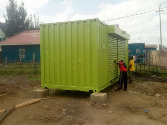 20ft shipping container wholesale shop image 4