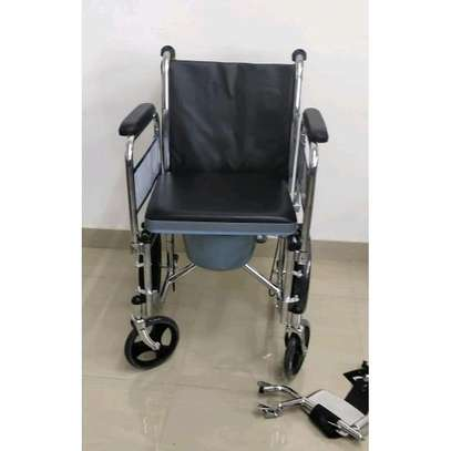 Commode wheelchair image 1