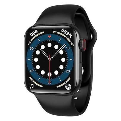 Smart Watch Year 2021 HW22 IWO Series 6 image 1