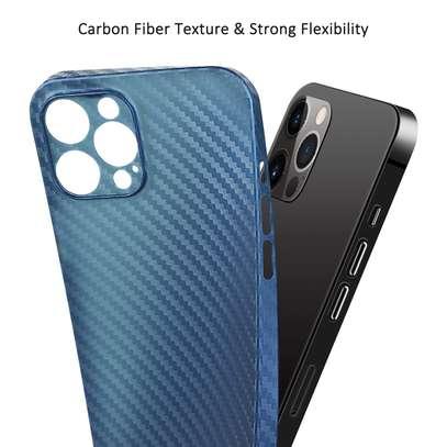 Memumi iPhone 12 Pro Max Carbon fiber Case image 2