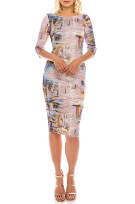 Crepe BodyCon Dress