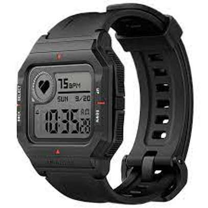 Original Amazfit NEO 28 Days Long Standby Always On Display Wristband 24 Hours Heart Rate Monitor 5ATM Waterproof Smart Watch image 1