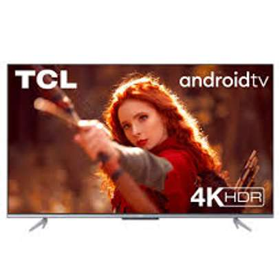 TCL Android 55 inches IPQ-TV 55P615 Smart UHD-4K Digital Tvs image 1