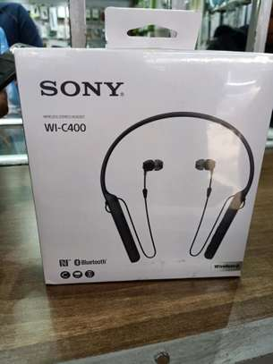 Sony Stereo Headset WI-C400 image 1