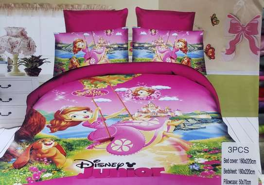 3pc Kids Cartoon Duvet cover image 5
