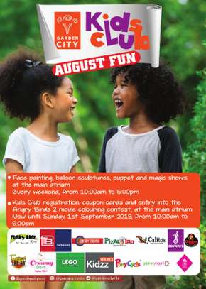 August Holiday Fun