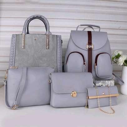 Classy 5 in 1 Ladies Handbags image 1