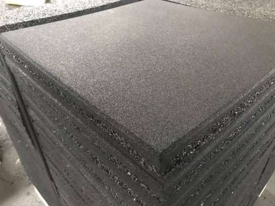High Quality Gym Rubber Floor Mat Rubber Tiles image 2