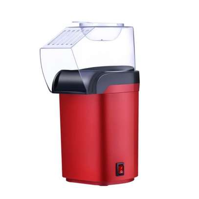 Small Hot Air Electric Popcorn Popper Maker Machine EU Easy Store Red image 2