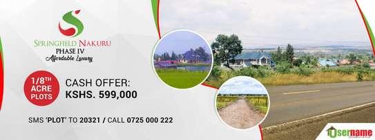 Affordable plots for sale in Nakuru image 1